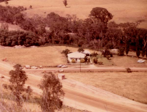 1970's before the garden development